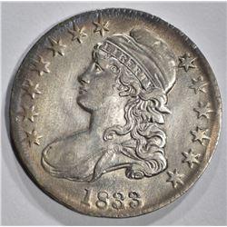 1833 BUST HALF DOLLAR, AU
