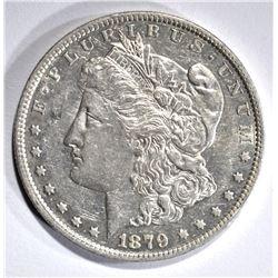 1879-O MORGAN DOLLAR, CH BU PL
