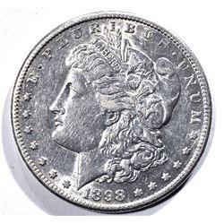 1898-S MORGAN DOLLAR, BU