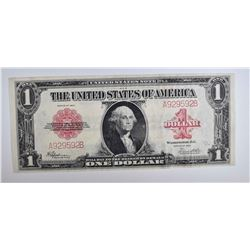 1923 $1 UNITED STATES NOTE XF