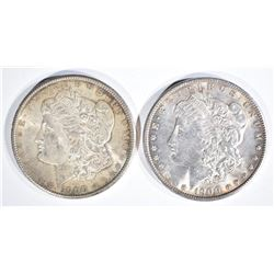 2-1900 CH BU MORGAN DOLLARS