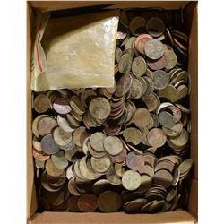 12-POUNDS MIXED COINS/TOKEN ETC. METAL DETECTOR FI
