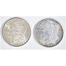 1884-O & 1887 MORGAN DOLLARS  CH BU