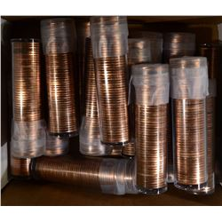 LINCOLN CENT ROLL LOT: