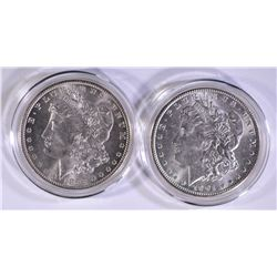 1899-O & 1901-O CH BU MORGAN DOLLARS IN CAPSULES