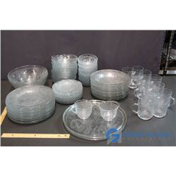 Large Lot of Matching Glassware