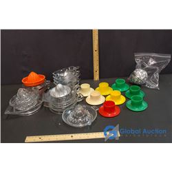 Lot of Juicers and Egg Cups
