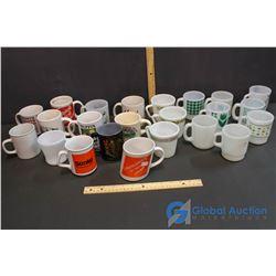 (8) Termocrisa Mugs, (3) Pyrex Mugs and Misc Mugs