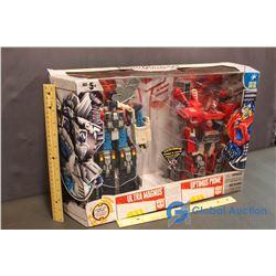 NIB Large Transformers Toys Ultra Magnus & Optimus Prime