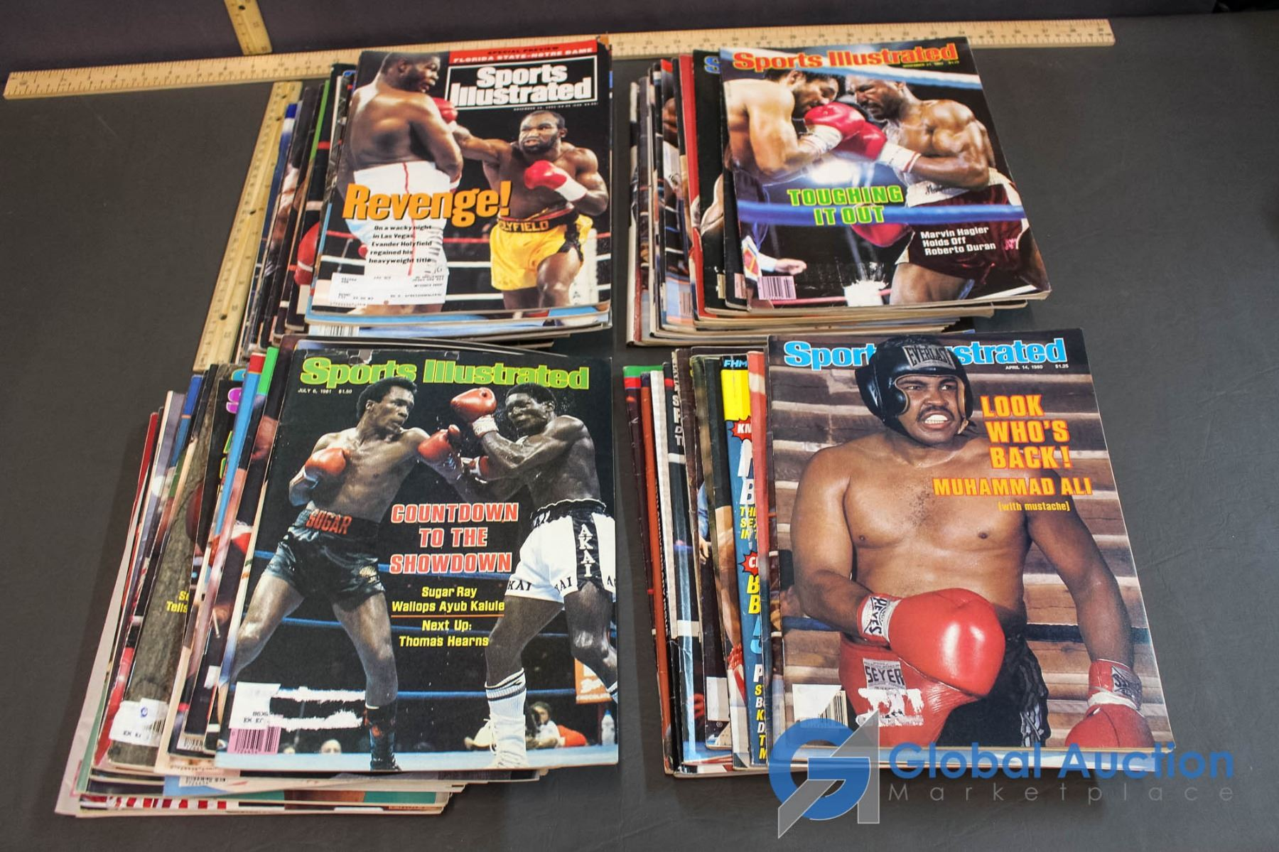 Lot of Sports Illustrated Magazines  Muhammad Ali, Joe Louis, Mike Tyson,  ECT