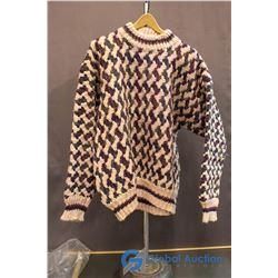 Ladies Large - Men's Medium Wool Sweater