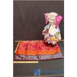 Mannequin of Handkerchiefs
