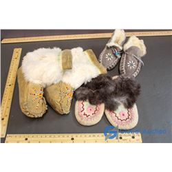 Lot of Child Moccasins