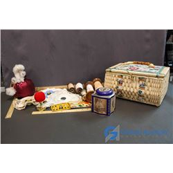 Lot of Vintage Sewing Supplies