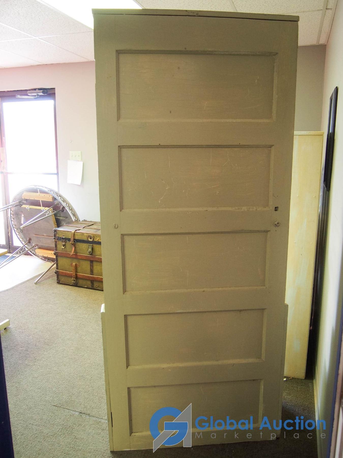Sensational Wooden Upcycled Door Storage Bench Uwap Interior Chair Design Uwaporg