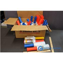 Box of Plastic Wrap w/Dispensers