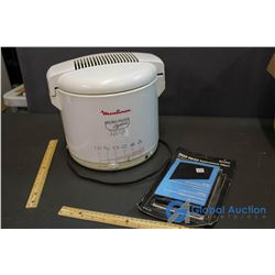 Moulinex Deep Fryer w/Replacement Filters
