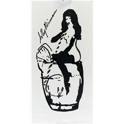 America Pop Art Ink Femlin Provenance LeRoy Neiman