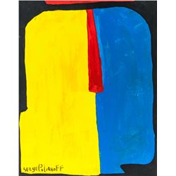 Paris Abstract School OOC Signed Serge Poliakoff