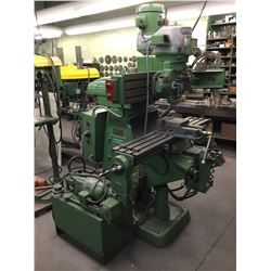 BRIDGEPORT Single Head Synchro Trace II 3D Hyd Duplicating Tracer Mill *VIDEO AVAILABLE*