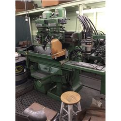 BRIDGEPORT Twin Head 360-3D Hyd Duplicating Tracer Mill *VIDEO AVAILABLE*