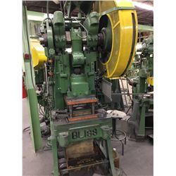 21S-M BLISS 45 Ton Mech Clutch OBI Power Press *VIDEO AVAILABLE*