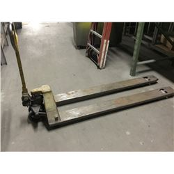 Multitone 5000 lbs. Cap. Hydraulic Pallet Jack w/Extended Legs