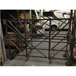 """Approx. (50) 3-Shelf Rolling Parts Dollies 26-1/2""""x 105"""