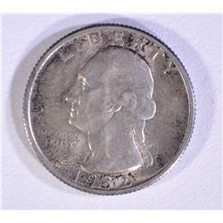 1932 WASHINGTON QUARTER GEM BU ORIGINAL TONE