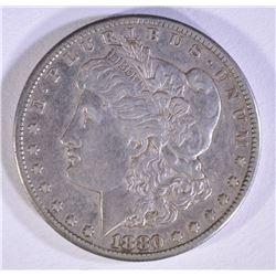 1880-CC MORGAN DOLLAR XF/AU