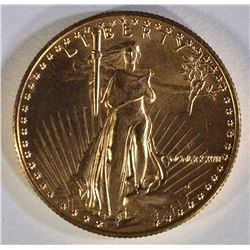 1987 $25 GOLD EAGLE .5OZ, BETTER DATE