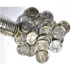 BU ROLL OF 1941-S JEFFERSON NICKELS