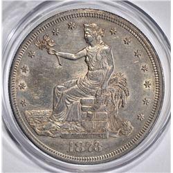 1873-CC TRADE DOLLAR  BU