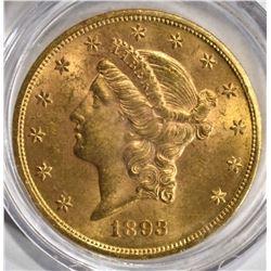 1893 $20.00 LIBERTY GOLD  BU