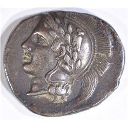GREEK HYRIA CAMPANIA 405-400-BC 7.1 grams SILVER S