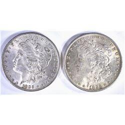 2-CH BU 1883-O MORGAN DOLLARS