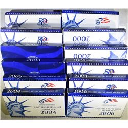 U.S. PROOF SETS FROM THE 2000'S
