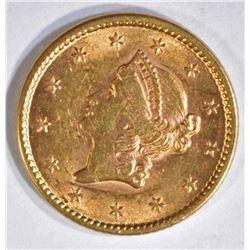 1851 $1 GOLD CH BU