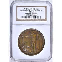 1915 SO CALLED $1 CA HK-400 NGC AU55