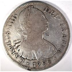 1798 MEXICO 8 REALES