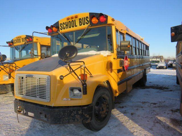 2003 FREIGHTLINER 52 PASSENGER SCHOOL BUS VIN 4UZAAWBW93CL72179 KEYS