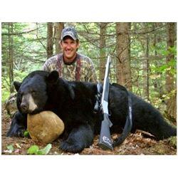 SASKATCHEWAN – BLACK BEAR HUNT OVER BAIT FOR ONE HUNTER