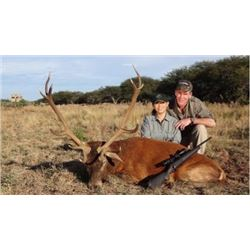 ARGENTINA - 5 DAY RED STAG HUNT FOR 1 HUNTER