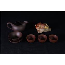 A Group of 7-Piece Tea Sets.