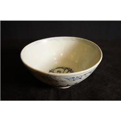 A Blue-and-White and Hailaoci Bowl.