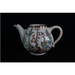 "An England Coalport ""Flora"" tea pot."