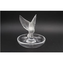 "A Germany Crystal ""Dove"" Decoration."