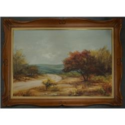 A Landscape Oil Painting by Tefler.
