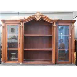 A Large Glass Display Cabinet.