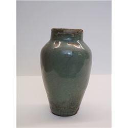 A Small Yuan Dyansty Celadon Glaze Vase.